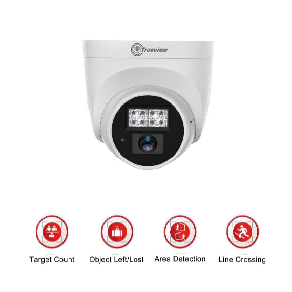 Pro IP IR Dome 2MP HD - Built-in Microphone
