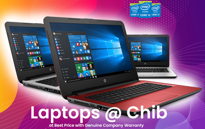laptops at chib techno systems